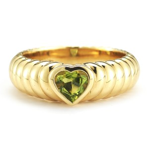 Tiffany & Co. Peridot  Yellow Gold Ring