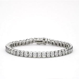 Platinum Diamond Tennis Bracelet