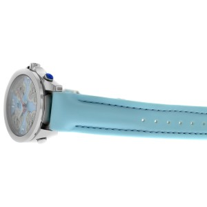 Jacob & Co. Five Time Zone JCMATH14 Stainless Steel / Leather with Diamond Quartz 40mm Womens Watch