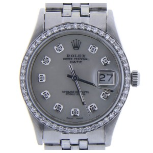 Rolex Date 15010 Vintage 34mm Mens Watch
