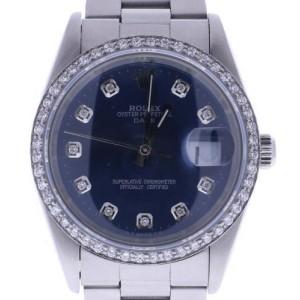 Rolex Date 15210 34mm Unisex Watch