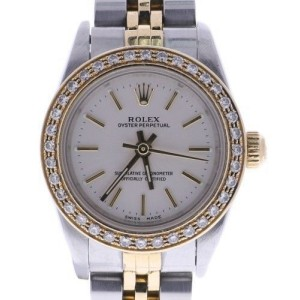Rolex Oyster Perpetual 76193 24mm Womens Watch
