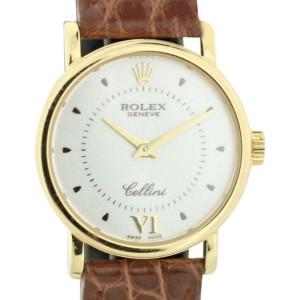 Rolex Cellini Geneve 6110 25mm Womens Watch