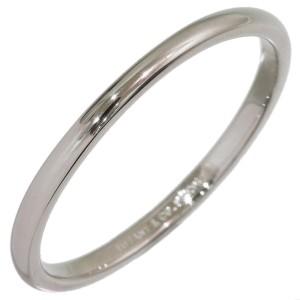 Tiffany & Co. Simple Platinum Wedding Ring Size 13
