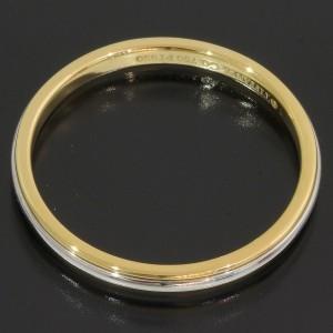 Tiffany & Co. LUCIDA 18K Yellow Gold, Platinum Ring Size 7.5