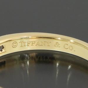 Tiffany & Co. 18K Yellow Gold Diamond Ring Size 5.75