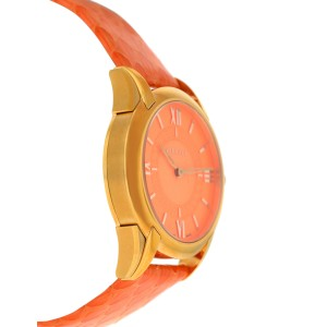 Versace Dafne VFF06 0013 Gold Tone Steel Quartz 33MM Watch