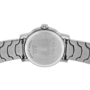 official photos aaceb df40e Lady Bulgari Bulgari Solotempo ST29S Stainless Steel Date Quartz Watch