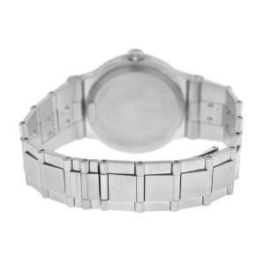 Mens Bulgari Bulgari Diagono LC35S Steel Date 36MM Automatic Watch
