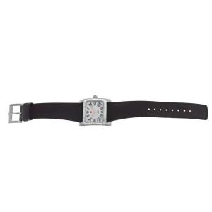 Ladies Michele MW2 Mini 71-7400 Steel MOP Diamond 28MM Quartz Watch