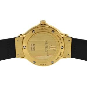 Ladies Hublot MDM Geneve Classic 1391.3 Steel 18K Gold Date Quartz 28mm Watch