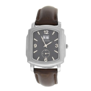 Mens Tourneau 409G-K02 Steel Date 35MM Quartz Watch