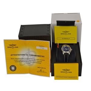 Men Breitling Airwolf SuperQuartz A78363 A7836323/B911 44MM Multifunction Watch