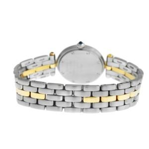 Ladies Cartier Panthere Vendome 1057920 One Row Gold Steel Quartz 24MM Watch