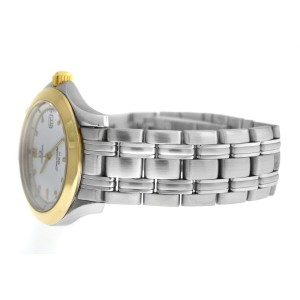Unisex Omega Seamaster 196.1501 396.1501 120M Gold Steel Quartz 36MM Watch