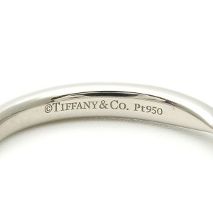 Tiffany & Co. Platinum Diamond Harmony Half Circle Ring