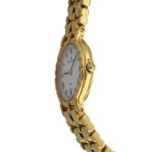 Ladies' Maurice Lacroix 78950 Electroplated Steel Quartz 24MM Date Watch