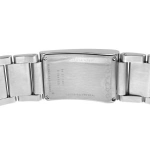 Unisex Movado Elliptica 84 C1 1481 Stainless Steel Gold Quartz 24MM Watch