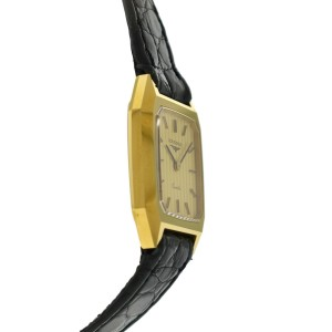 New Ladies Longines XL18 Gold PLated Stainless Steel Quartz 20mm Watch