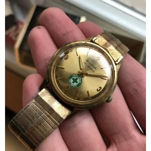 Vintage Bulova Automatic Gold Capped w/ Bracelet and Original Box