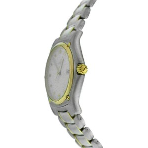 Mint Ladies Ebel 1911 Ref 187902 Steel 18K Gold 32mm Date Quartz Watch