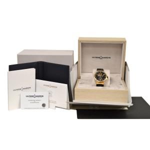 Ulysse Nardin Maxi Marine Men 18K Rose Gold 1186-126-62 Automatic 43MM Watch