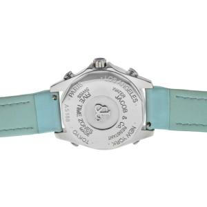 Unisex Jacob & Co. Five 5 Time Zone JCM-24DA Diamond Bezel 40MM MOP Watch New