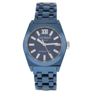 New Locman Stealth Diamond Titanium Ladies' Ref. 204 Quartz 33MM Watch