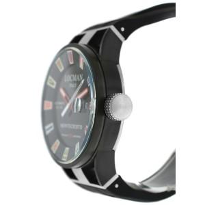 New Locman Montecristo Ref. 511 Titanium PVD Steel Men's Automatic 44MM Watch