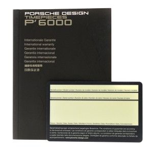 Porsche Design Flat Six P6310 6310.41.44.0249 Men's Steel Automatic 44MM Watch