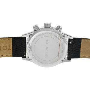 Tourneau Pacific Concepts 62209 Ladies Diamond MOP Steel 36MM Quartz Watch