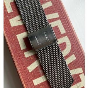 Vintage Universal Geneve Manual Wind White Roman Numeral Dial w/ Bracelet Watch