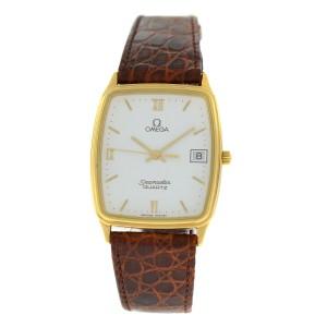 Omega Seamaster 1430 Unisex Gold Tone Stainless Steel 28mm Quartz Watch