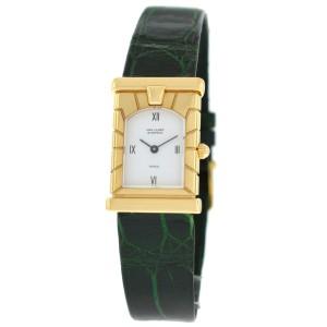 Van Cleef & Arpels Paris Ref. 122363 Solid 18K Yellow Gold Quartz 19MM Watch