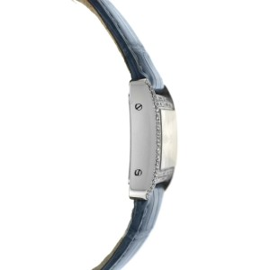 Cartier Divan 2599 Ladies Diamond Stainless Steel Quartz 31MM Watch