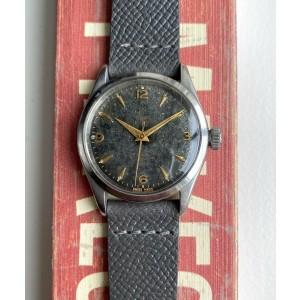"Vintage Tudor Oyster Prince 34 Automatic Ref. 7909 Black ""Porcelain"" Dial Watch"