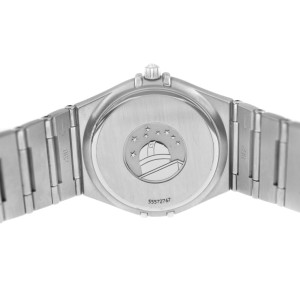 Omega Constellation Unisex Steel Date 33MM Quartz Watch - Refinished dial