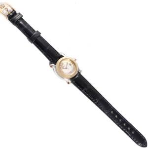 Chopard Happy Sport 5 Floating Diamond Yellow Gold Steel Watch 8246