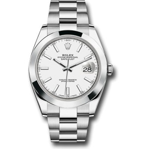 Rolex Oyster Perpetual 126300 WIO Datejust  Stainless Steel 41mm Mens Watch