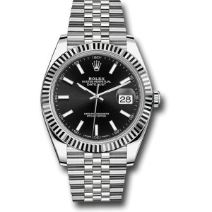 Rolex Oyster Perpetual Datejust 126334 BKIJ Stainless Steel 41mm Mens Watch