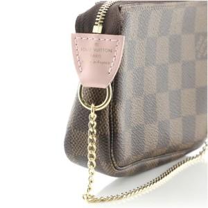 Louis Vuitton Pochette Accessoires Limited Edition Vivienne Xmas Damier Mini