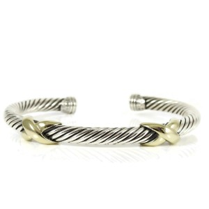 David Yurman X Collection Sterling Silver  Bracelet