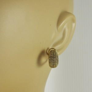 Alex Sepkus  18k Yellow Gold  Earrings