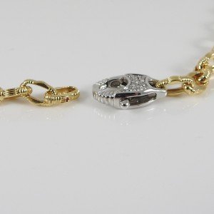 Roberto Coin Appassionata 18k Yellow Gold Diamond Necklace