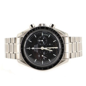 Omega Speedmaster Professional Moonwatch Chronograph Manual Watch Stainless Steel 40