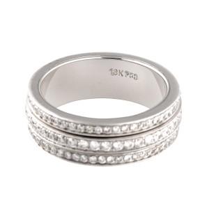 18k White Gold Diamonds Ring