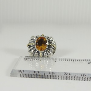 Lagos Wheat Sterling Silver Citrine