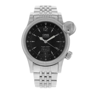 Oris Flight Timer 63575684064 42mm Mens Watch