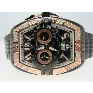 Aqua Master Joe Rodeo Swiss Auto Diamond Watch