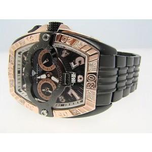 Aqua Master Joe Rodeo Swiss Auto Diamond Watch